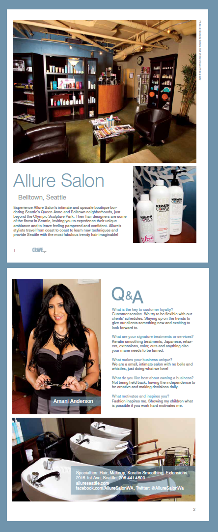 Crave Article - Allure Salon Seattle